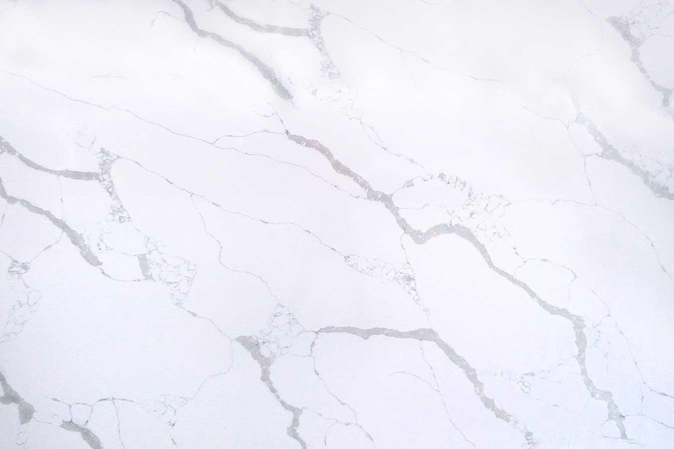 Bianco Calcutta Quartz Slab