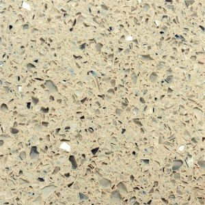 Biscotti cream quartz kitchen worktop