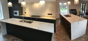 Quartz Worktop Kitchen Island
